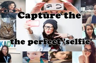 Beauty is in the camera of the beholder– how to take the perfect selfie!