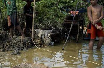 Mga minero nagrally matapos ipasara ng DENR ang mga minahan