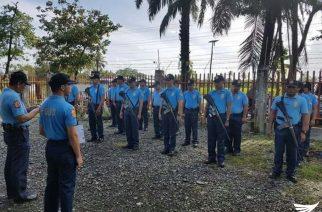 Camp Defense Dry Run isinagawa ng mga kapulisan saCantilan, Surigao del Sur
