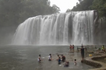 Eco-tourism programmes in the southern Philippines are encouraged by a government crackdown on erring mines and promises of investments. (Photo grabbed from Reuters video)