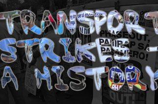 Transport strikes – a history