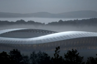 Forest Green Rovers, dubbed the 'greenest' soccer club in the world, are planning to build the modern world's first all-wood stadium. (Photo grabbed from Reuters video)