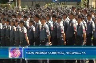 ASEAN meetings sa Boracay, nagsimula na