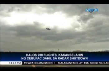Cebu Pacific cancels 200 flights due to radar shutdown