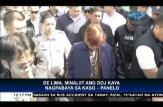 Charges against De Lima not politically motivated – Abella