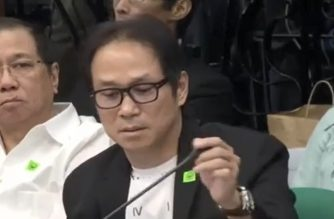 "Charlie ""Atong"" And and Norman Ng, business associates of Macau-based gambling tycoon Jack Lam detailed before the Senate hearing how immigration commissioners Al Argosino and Michael Robles demanded P100 million allegedly as payment for the bail of the detained Chinese workers.  (Eagle News Service)"