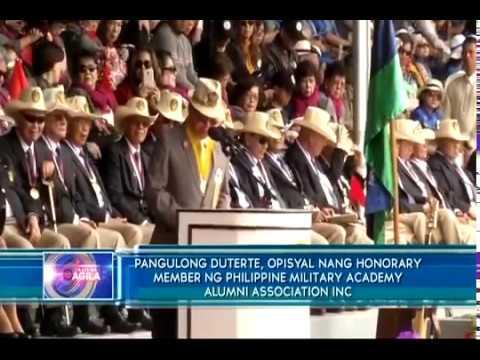 Featured video:  PMA Alumni Association expresses support for President Duterte