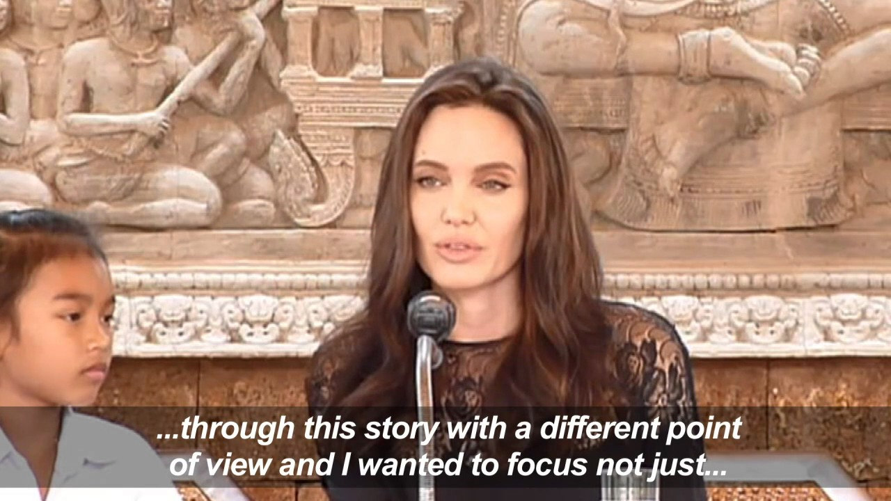 Jolie unveils Khmer Rouge film in 'second home' Cambodia