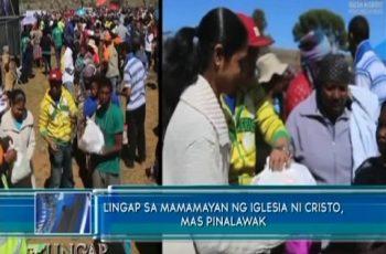 Lingap sa Mamamayan ng Iglesia Ni Cristo, mas pinalawak