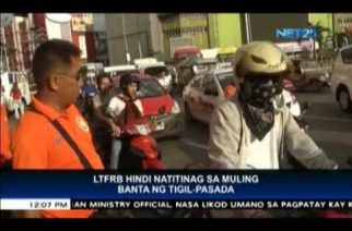 LTFRB mulls options vs groups who joined transport strike