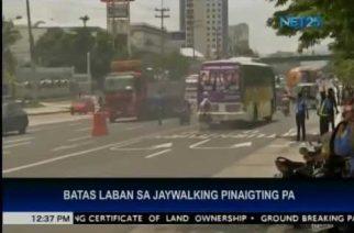 MMDA intensifies drive on jaywalking