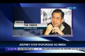 MMDA to set up jeepney stops along Commonwealth to España roads