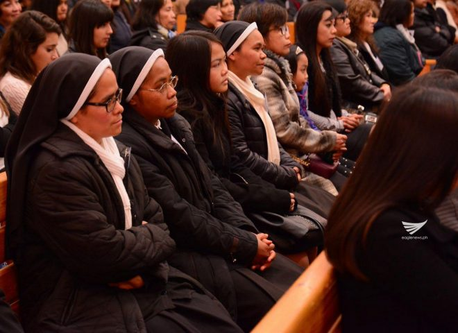 Catholic missionary nuns attend INC evangelical mission in Rome