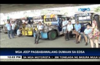Public jeeps no longer allowed in EDSA-Guadalupe