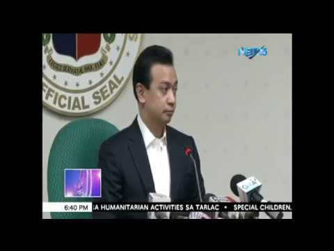 """Trillanes: Duterte has illegally acquired P2-B deposits; Palace dares him, """"Prove it"""""""