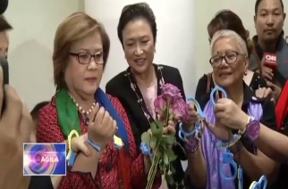 Senator De Lima now just another PNP HQ detainee; Dayan holed up at Muntinlupa PNP