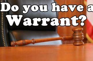 Warrant of Arrest 101