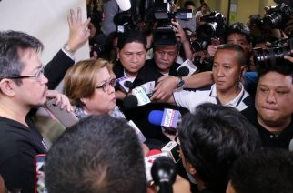 Watch:  'Inosente po ako,' says De Lima prior to arrest