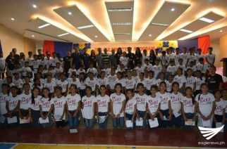 102 kabataan nagtapos sa programang Drug Abuse Resistance Education
