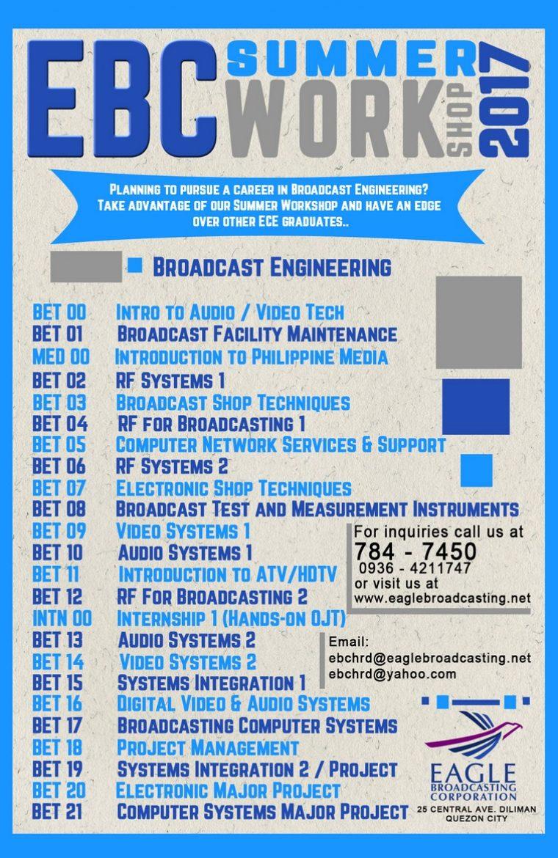 EBC Workshop 2017 engineering poster