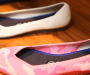 Trending footwear made from recycled water bottles