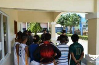 """Project """"Taphang"""" isinagawa ng PNP para sa mga basketbolista ng Carrascal, Surigao del Sur"""