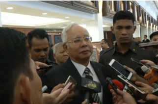 Malaysian Prime Minister Najib Razak says there are no plans to cut diplomatic ties with North Korea after a rise in tensions following the murder of Kim Jong Nam.(photo grabbed from Reuters video)