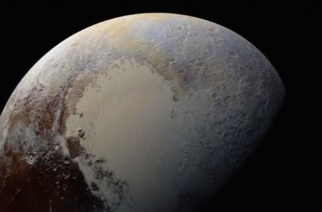 """A team of scientists seek to restore Pluto to planethood after its demotion to a """"dwarf planet"""" a decade ago.(photo grabbed from Reuters video)"""