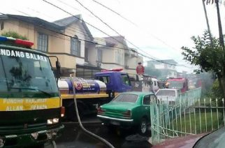 Napabayaang water heater, pinagsimulan ng sunog sa T. Sora, Quezon City