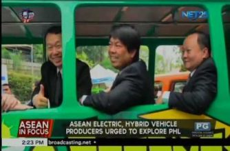 ASEAN electric, hybrid vehicle producers urged to explore PHL