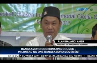 Bangsamoro Coordinating Council, inilunsad ng One Bangsamoro Movement