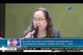 Bilang ng mga Filipinong naninigarilyo, bumaba ng mahigit isang milyon – DOH