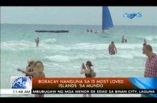 Boracay nanguna sa 15 Most Loved Islands sa mundo