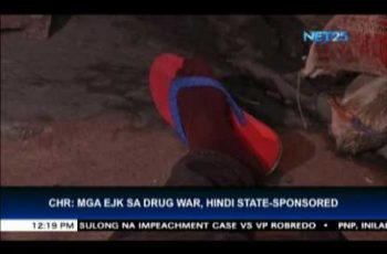 CHR admits it has no evidence to prove drug killings are state-sponsored