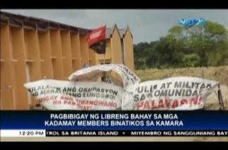 House committee on housing reminds NHA it cannot give free housing to Kadamay members