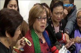 Senator Leila De Lima defends Mocha Uson from critics