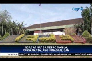 DepEd postpones NCAE and NAT in Metro Manila