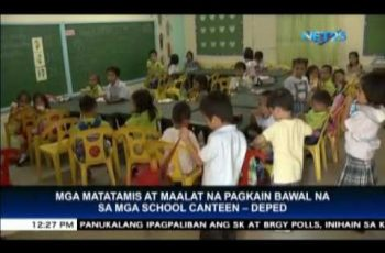 DepEd bans candies and soft drinks in school canteens