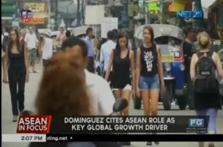 Dominguez cites ASEAN as key global growth driver; says PHL will benefit from this