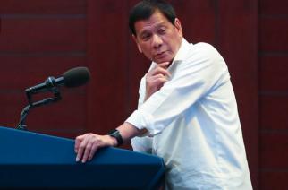File photo of President Rodrigo Duterte (Photo from Presidential Communications facebook)
