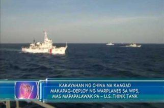 Ginagawang Chinese structures sa pinagtatalunang isla sa West PHL Sea, malapit nang matapos – US Think Tank