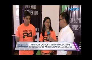 Herbalife launches new product line for athletes