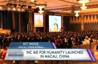 INC Aid for Humanity launched in Macau, China