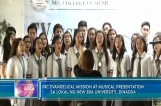INC Evangelical mission at musical presentation sa lokal ng New Era University, dinagsa