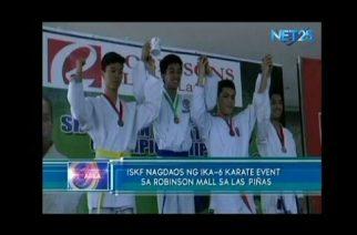 ISKF nagdaos ng ika-6 karate event sa Robinson mall sa Las Piñas