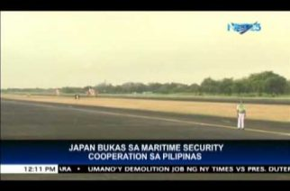 Japan ready to cooperate with the Philippines on maritime security