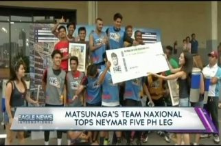Matsunaga's team Naxional tops Neymar five PH leg