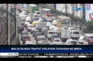MMDA plans to double traffic violation fines