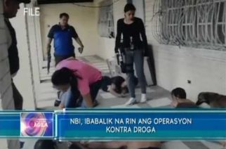NBI, ibabalik na rin ang operasyon kontra droga
