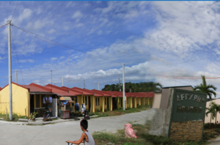 File photo of the NHA housing for AFP and PNP in Bulacan.  (Photo courtesy NHA website)